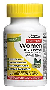 Super Nutrition - Simply One Women, 30 veg tablets [Health and Beauty]