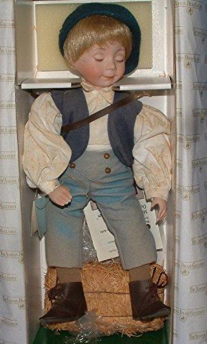 - Ashton Drake Dianna Effner's Mother Goose Little Boy Blue Porcelain Doll