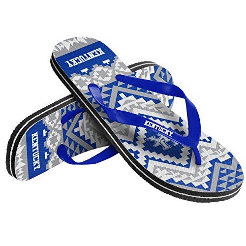 Kentucky Womens Aztec Flip Flop Small