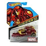 (US) Hot Wheels, Marvel Character Car, Hulkbuster Iron Man #19, 1:64 Scale