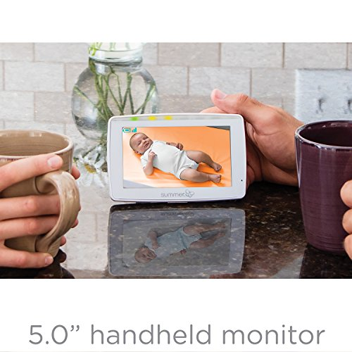 Summer Wide View 2 0 Baby Video Monitor With 5 Inch Screen