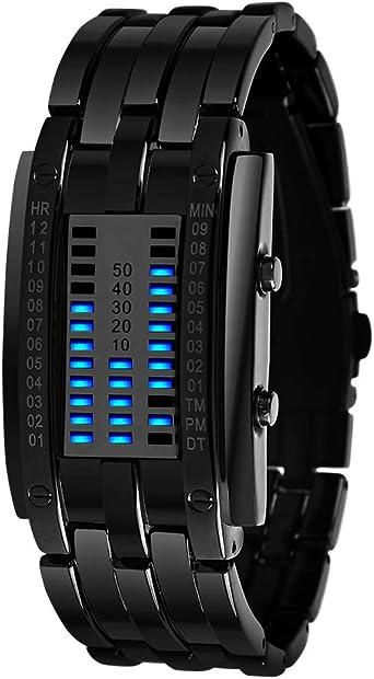 Reloj de moda reloj hombre 2017 LED para hombre relojes