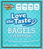 ThinSlim Foods 100 Calorie, 2g Net Carb, Love The Taste Low Carb Everything Bagels