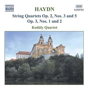 String Quartets Op 2