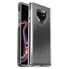 OtterBox Symmetry Clear Series Case for Samsung Galaxy Note9 - Retail Packaging - Stardust (Silver Flake/Clear)