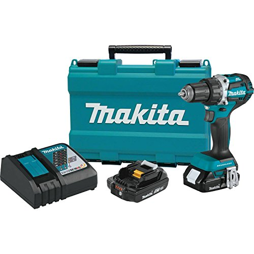 - Makita XFD12R 18V LXT Lithium-Ion Compact Brushless Cordless 1/2