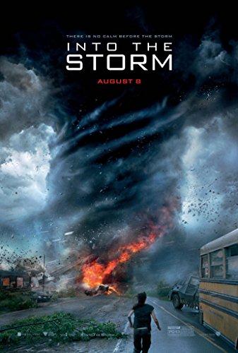Into The Storm Movie Poster 2 Sided Original Richard Armitage