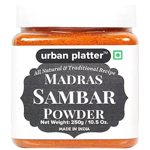 Urban Platter Madras Sambar Powder, 250g [All Natural & Traditional (Madras Natural)