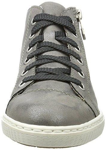 Rieker Femme Rieker L0934 L0934 Hautes Sneakers FXFrq6xw8