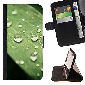 BullDog Case - FOR/Samsung Galaxy S4 IV I9500 / - / Plant Nature Forrest Flower 75 /- Monedero de cuero de la PU Llevar cubierta de la caja con el ID Credit Card Slots Flip funda de cuer