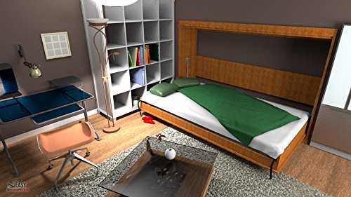 Queen Size Deluxe Murphy Bed Kit Horizontal Buy Online