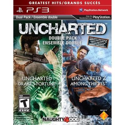 SONY 98375 / Uncharted 1&2 Dual Pack PS3 (Uncharted Ps3 Bundle)