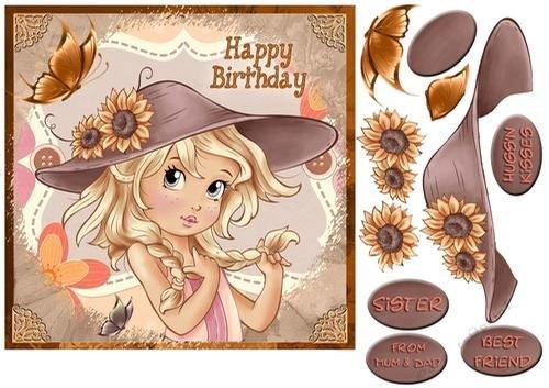 Un cumpleaños especial - Dulce pequeño sol por Di. Simpson ...