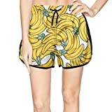 XULANG Attractive Women only Banana Swimming Trunks Watersports Beach wear Quick Dry Boardshorts