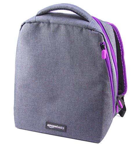 AmazonBasics Backpack for Super NES , Grey (Sega Genesis Carrying Case)