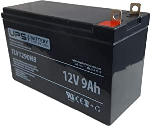 "UPSBatteryCenter Compatible Replacement Battery for Honeywell 7500W Portable Generator - 12V 9Ah, NB Terminals Battery Dimensions: Length: 151mm (5.94"") / Width: 65mm (2.56"") / Height: 94mm (3.70"")"