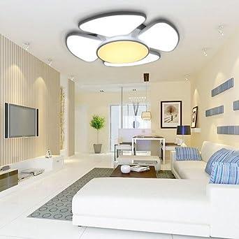 VINGO® 90W LED Deckenleuchte Rund Wohnzimmer Deckenbeleuchtung Leuchte  Energiespar Deckenlampe Schlafzimmer Moderne Innenleuchte Wandleuchte IP44