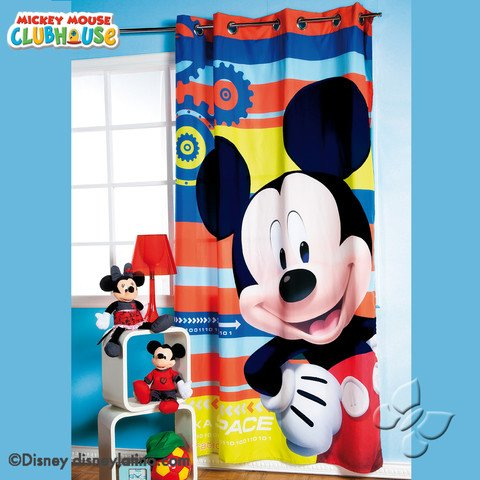Mickey Mouse Disney Room Bedroom Curtain Decoration Gift Limited Edition (Mickey Mouse Curtains)