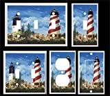Got You Covered Lighthouse Nautical Seagulls Light Switch Cover Plate Home Decor
