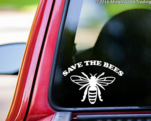 (Minglewood Trading SAVE THE BEES Vinyl Decal Sticker 7