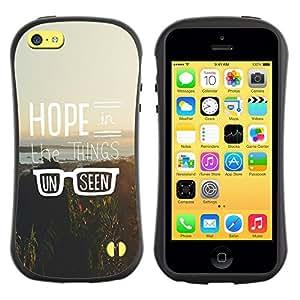 Suave TPU GEL Carcasa Funda Silicona Blando Estuche Caso de protección (para) Apple Iphone 5C / CECELL Phone case / / Hipster Vintage Motivational Sun /