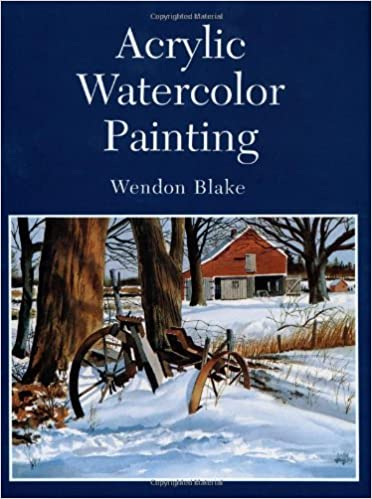 acrylic watercolor painting dover art instruction wendon blake
