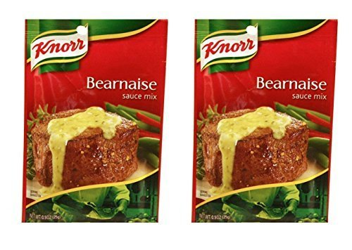 Knorr's Bearnaise Sauce Mix, .9 Oz Each - Pack of 2 by Knorr