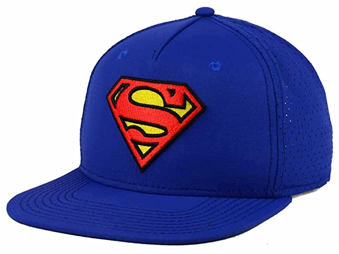 55575fa26e9 Image Unavailable. Image not available for. Color  DC Comics Superman  Flatbill Mesh Snapback Hat