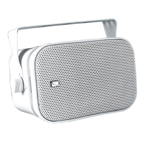PolyPlanar Compact Box Speaker Pair White by Poly-Planar