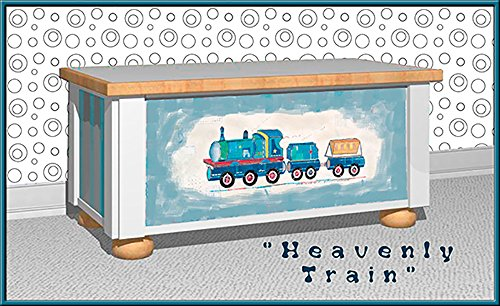Heavenly Train Toy Chest