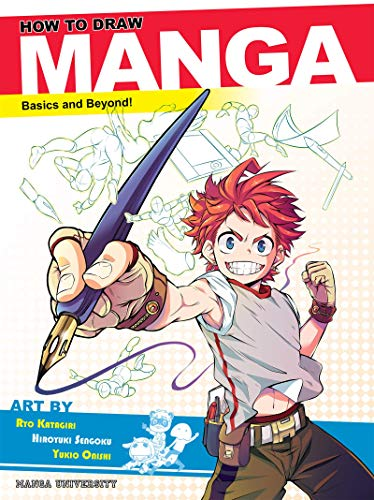 How to Draw Manga: Basics and Beyond!