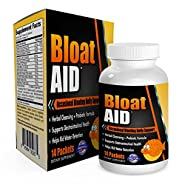 Bloat-AID: Bloated Stomach Cleanse / Bloating Relief and Weight Loss with Herbs/Probiotics - Bloat Pills - Bloat Relief - Bloat Cleanse