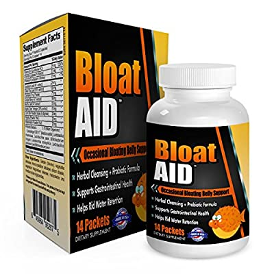 Bloat-AID: Bloated Stomach Cleanse / Bloating Relief and Weight Loss with Herbs/Probiotics - Bloat Pills - Bloat Relief - Bloat Cleanse - Bloat Reducer