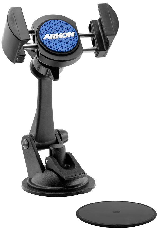 Arkon RoadVise Car Dash Mount Holder for iPhone XS Max XS XR X Galaxy S10 S9 Note 9 8 Retail Black by ARKON