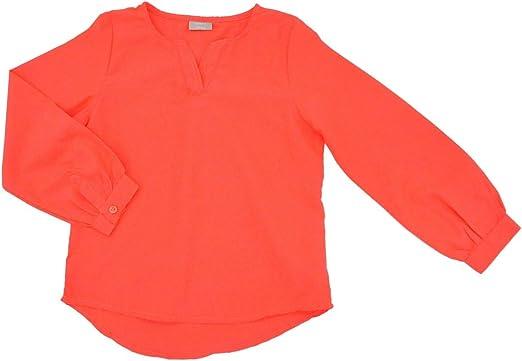 NAME IT - Blusa de túnica para niña, color coral coral 146/152 cm(11-12 años): Amazon.es: Ropa y accesorios
