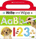 Best Cartwheel Books For Kindergartens - Write and Wipe ABC 123 (Scholastic Early Learners) Review