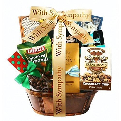 Kosherline Assorted Gourmet Treats Kosher Sympathy Basket