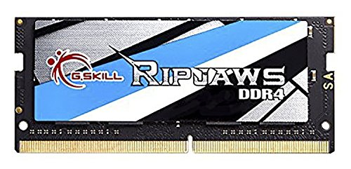 2400 Series Laptop - 8GB G.Skill 2400MHz DDR4 SO-DIMM Laptop Memory Module (CL16) 1.20V PC4-19200 Ripjaws DDR4 Series