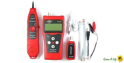 Tekit Multipurpose Network Ethernet LAN Phone Cable Tester Scanner RJ45 RJ11 Cat-5 NF-
