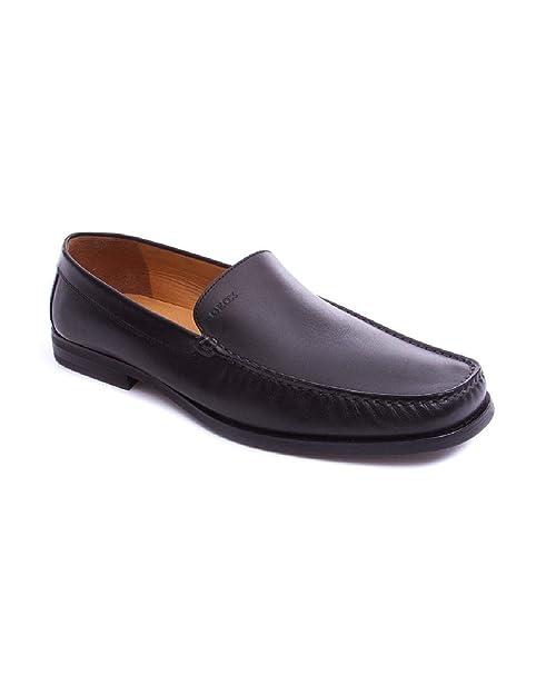 Mocasin de Geox Negro en Zapateria Viñas 45 Negro: Amazon.es: Zapatos y complementos