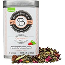 Grounded Tea - Birds & Bees Teas - Our Organic Fertility tea Blend with Red Raspberry is excellent for Men and Women - this Loose Leaf Herbal Infusion makes for a great natural cleanse and detox tea