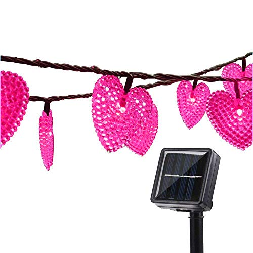 Heart Shaped Outdoor Lights in US - 5