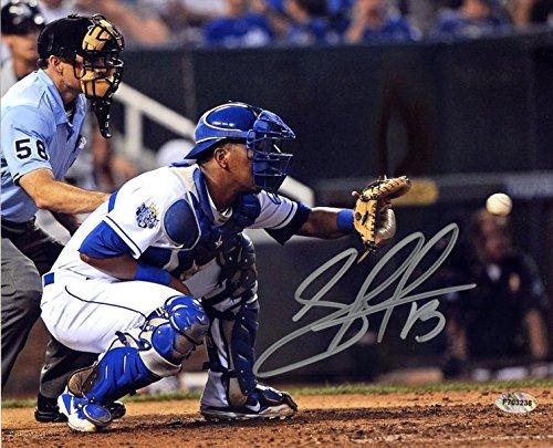 Salvador Perez Kansas City Royals Signed Autographed 8
