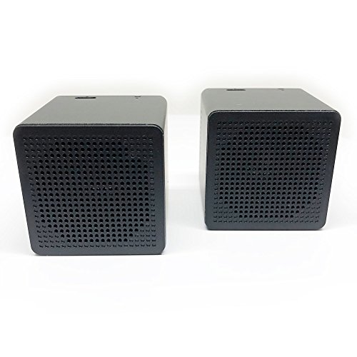 Wireless Bluetooth Speakers: True Twin Portable TWS Mini Stereo Mic Dual Big Super Bass Microphone Outdoor Pair Compatible with iPhone Android Samsung Galaxy Nexus MAC PC Echo]()