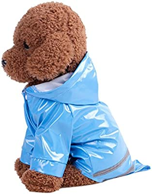 Amazon.com: Mascota Chubasquero daoroka pequeña mascota ...