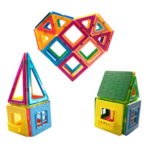 Magnetic Building Blocks Educational Kids product image