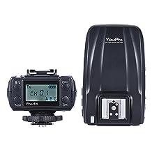 Andoer YouPro Pro-6N 2.4G Wireless i-TTL 1/8000S HSS Flash Trigger Transmitter Receiver Transceiver for Nikon D750 D810 D7200 D610 D7000 D5500 D5200 D5300 D3300 D3200 DSLR Camera
