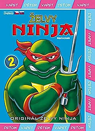 Amazon.com: Zelvy Ninja - 2. serie DVD 2 (Teenage Mutant ...