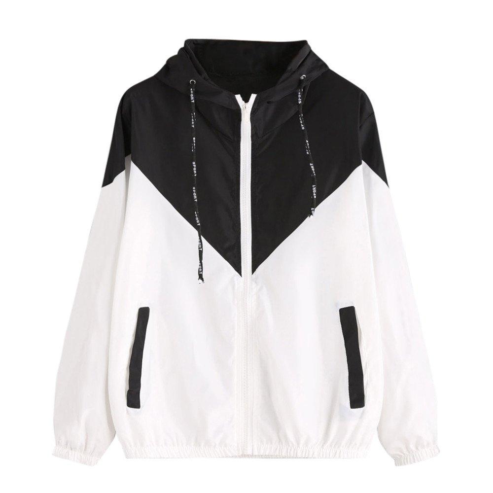 Sales Jacket Autumn Hooded Lightweight Windbreaker Coat Cardigan AfterSo Womens