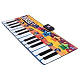 Piano Keyboard 24 Keys Playmat Dance Electric Gigantic Kids Musical Floor Game